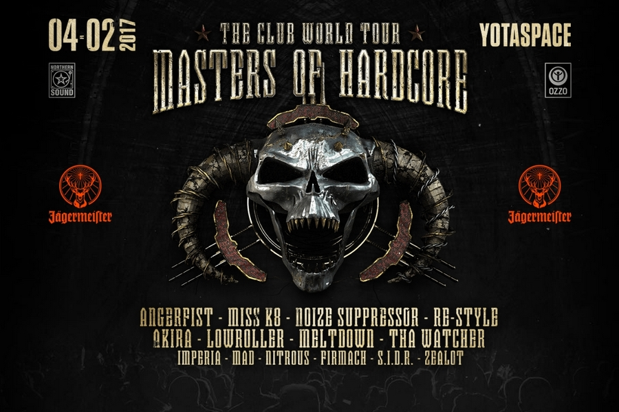 4.02.17 / Masters Of Hardcore Russia 2017 / YotaSpace