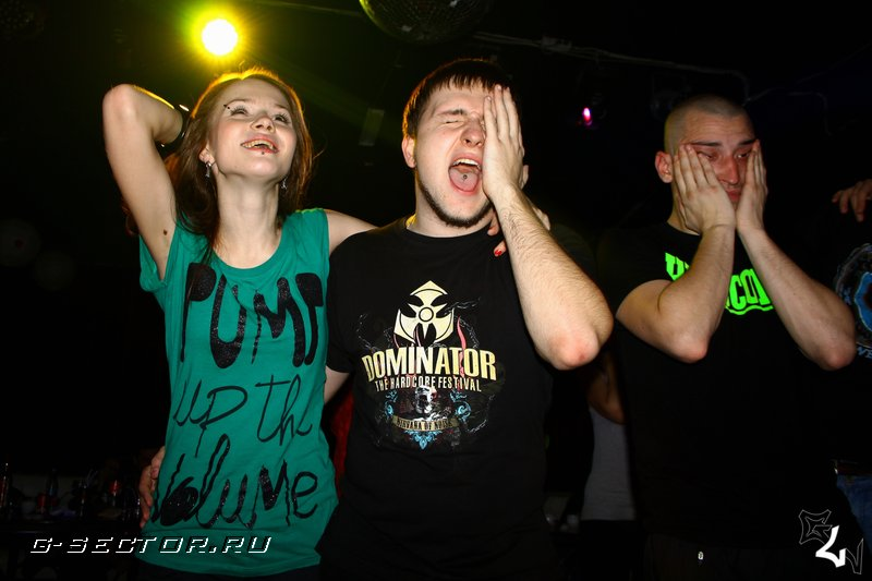 16.11.12 / U In Da fuckin Army of Hardcore Now / клуб Monaclub